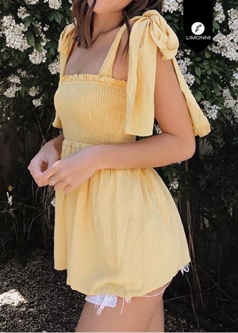 Blusas para mujer Limonni Novalee LI1728 Casuales