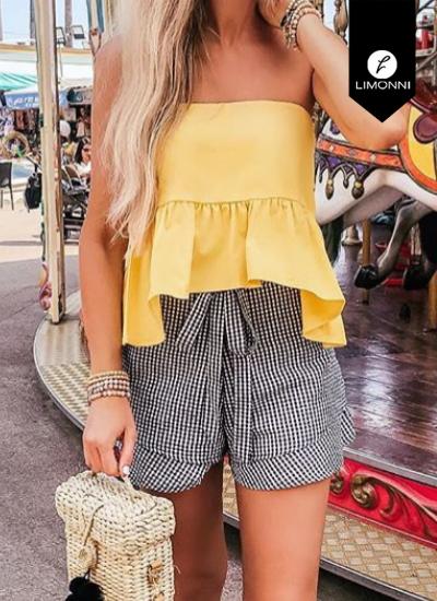 Blusas para mujer Limonni Novalee LI1756 Tops