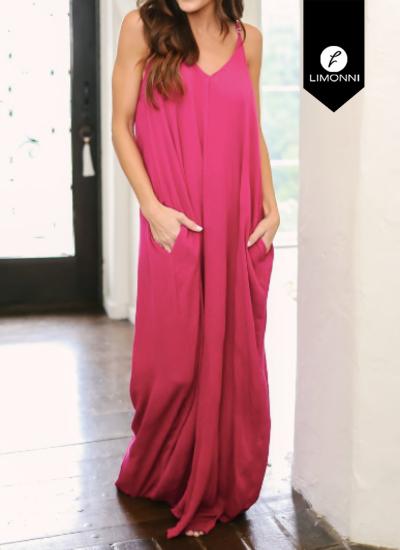 Vestidos para mujer Limonni Novalee LI1757 Maxidress