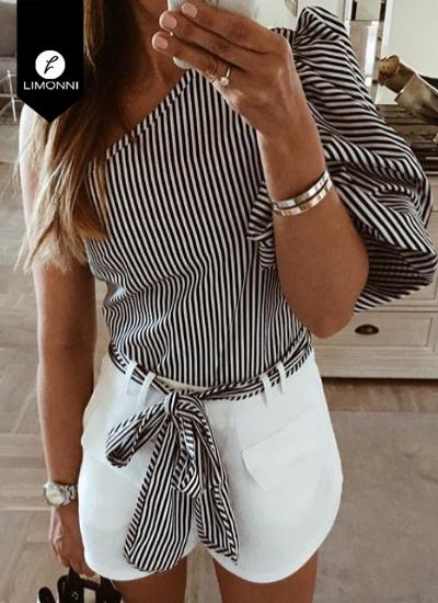 Blusas para mujer Limonni Novalee LI1763 Casuales