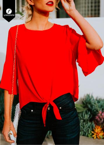 Blusas para mujer Limonni Novalee LI1798 Casuales