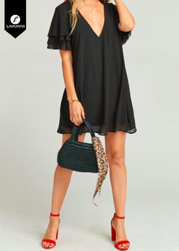 Vestidos para mujer Limonni Novalee LI1825 Cortos elegantes
