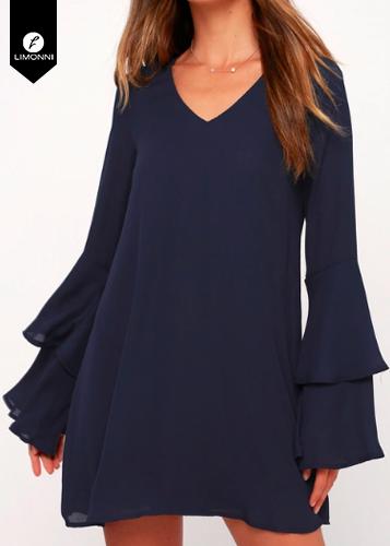 Vestidos para mujer Limonni Novalee LI1881 Cortos Casuales