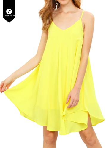 Vestidos para mujer Limonni Novalee LI1901 Cortos Casuales