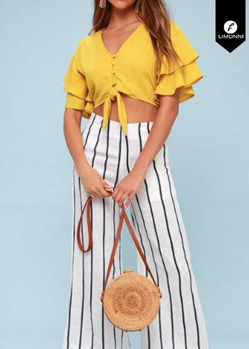 Blusas para mujer Limonni Ameliee LI1955 Tops
