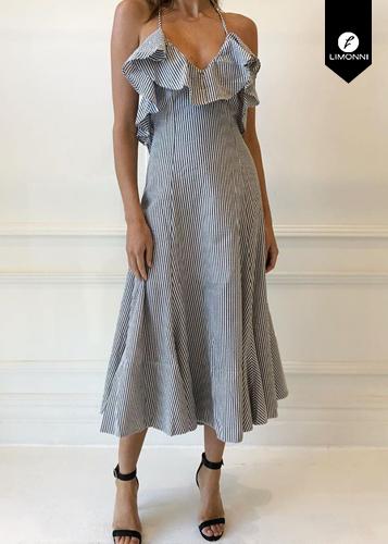 Vestidos para mujer Limonni Ameliee LI1973 Maxidress