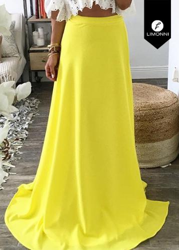 Faldas para mujer Limonni Ameliee LI1990 Largos elegantes