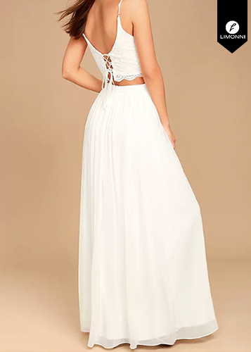 Faldas para mujer Limonni Ameliee LI1998 Largos elegantes