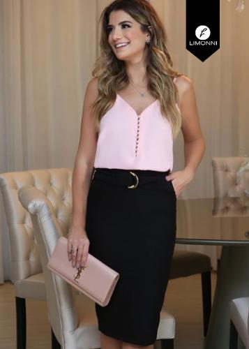 Blusas para mujer Limonni Ameliee LI2027 Basicas