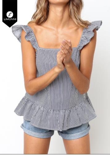 Blusas para mujer Limonni Ameliee LI2034 Casuales
