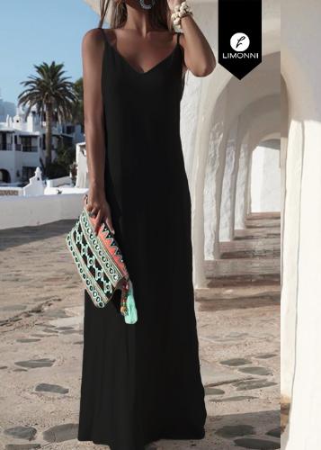 Vestidos para mujer Limonni Ameliee LI2040 Maxidress
