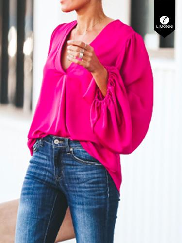 Blusas para mujer Limonni Ameliee LI2053 Casuales