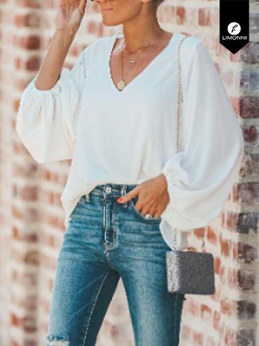 Blusas para mujer Limonni Ameliee LI2057 Casuales