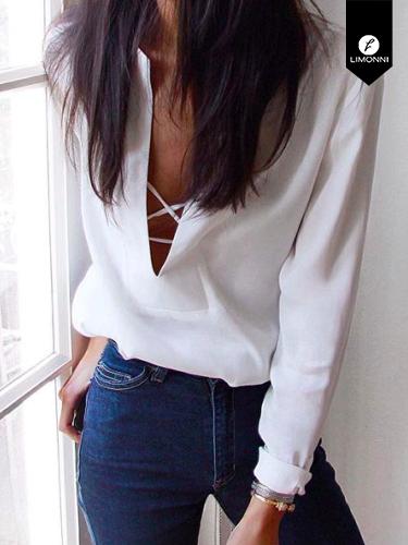 Blusas para mujer Limonni Ameliee LI2063 Casuales