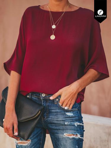 Blusas para mujer Limonni Ameliee LI2067 Casuales
