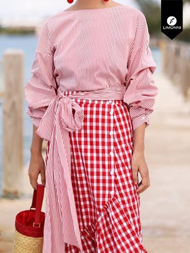 Blusas para mujer Limonni Ameliee LI2069 Casuales