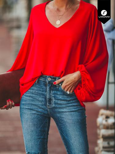 Blusas para mujer Limonni Ameliee LI2071 Casuales