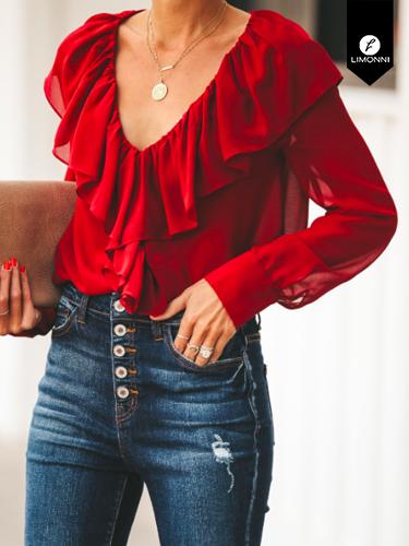 Blusas para mujer Limonni Ameliee LI2073 Casuales