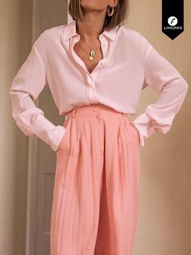 Blusas para mujer Limonni Ameliee LI2082 Camiseras