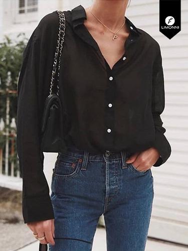 Blusas para mujer Limonni Ameliee LI2084 Camiseras