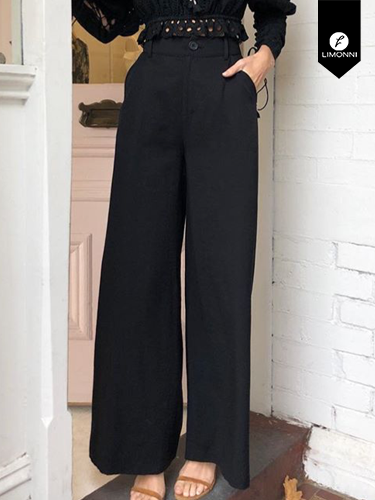 Pantalones Limonni Ameliee LI2088 Largos elegantes