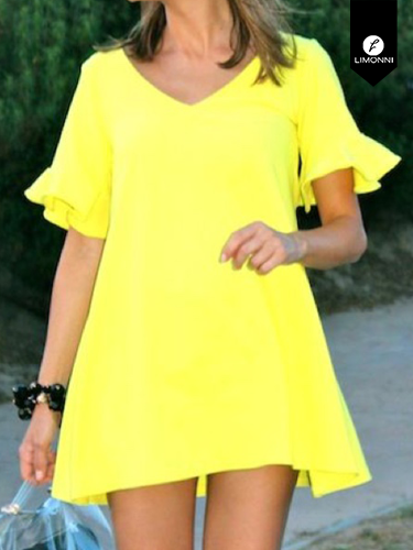 Vestidos para mujer Limonni Ameliee LI2095 Cortos Casuales