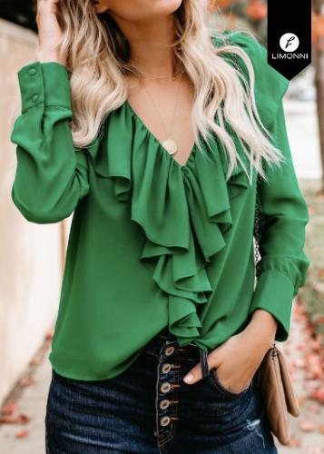 Blusas para mujer Limonni Ameliee LI2106 Casuales
