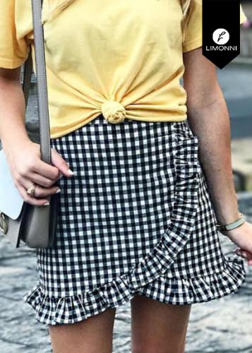 Faldas para mujer Limonni Novalee LI2107 Cortos Casuales