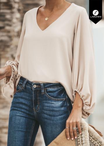 Blusas para mujer Limonni Ameliee LI2108 Casuales