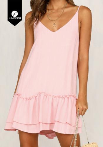 Vestidos para mujer Limonni Claudette LI2128 Cortos Casuales