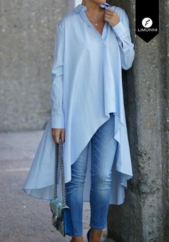 Blusas para mujer Limonni Claudette LI2132 Camiseras