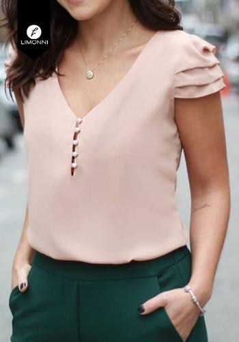 Blusas para mujer Limonni Claudette LI2136 Casuales