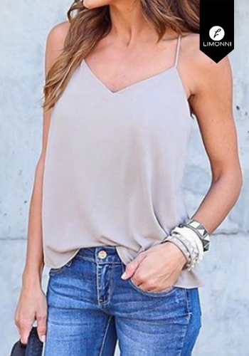 Blusas para mujer Limonni Claudette LI2146 Basicas