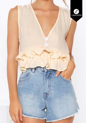 Blusas para mujer Limonni Claudette LI2157 Casuales
