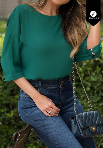 Blusas para mujer Limonni Claudette LI2182 Casuales