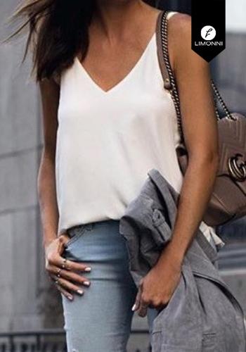 Blusas para mujer Limonni Claudette LI2183 Basicas