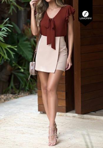 Blusas para mujer Limonni Claudette LI2193 Casuales