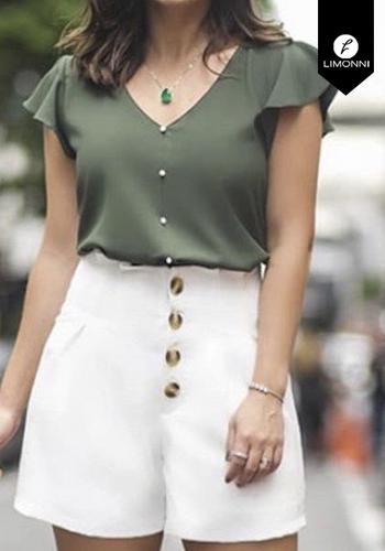 Blusas para mujer Limonni Claudette LI2196 Casuales