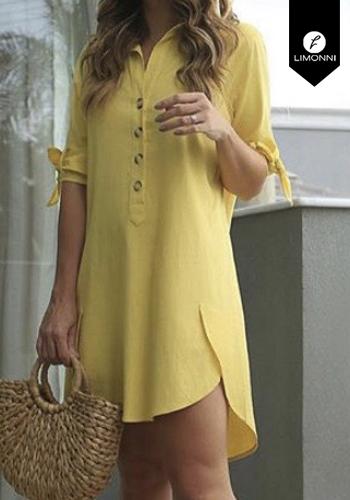 Vestidos para mujer Limonni Claudette LI2197 Cortos Casuales