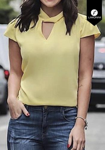 Blusas para mujer Limonni Claudette LI2199 Casuales