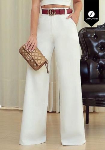 Pantalones Limonni Claudette LI2207 Largos elegantes