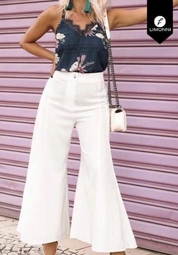 Pantalones Limonni Claudette LI2212 Cortos elegantes
