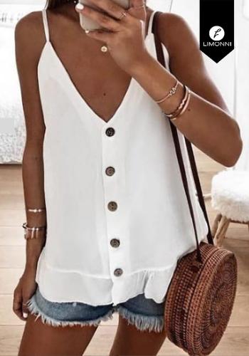 Blusas para mujer Limonni Claudette LI2231 Casuales