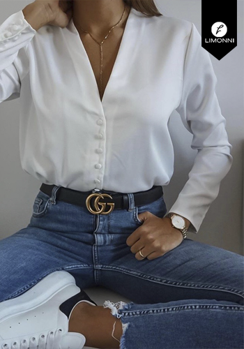 Blusas para mujer Limonni Claudette LI2233 Casuales