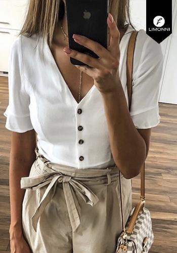 Blusas para mujer Limonni Claudette LI2235 Casuales