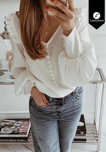 Blusas para mujer Limonni Claudette LI2253 Casuales