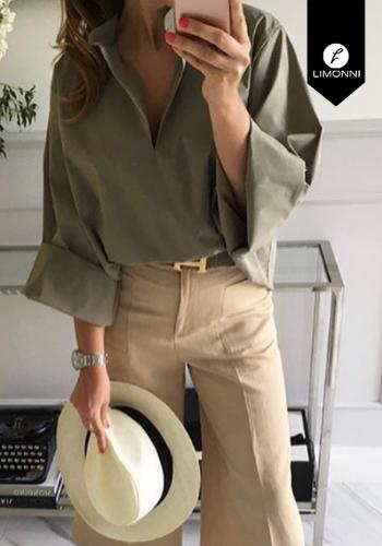 Blusas para mujer Limonni Claudette LI2255 Casuales