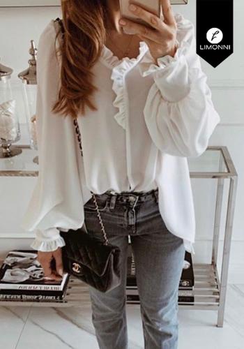 Blusas para mujer Limonni Claudette LI2257 Casuales