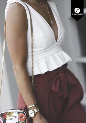 Blusas para mujer Limonni Claudette LI2266 Tops