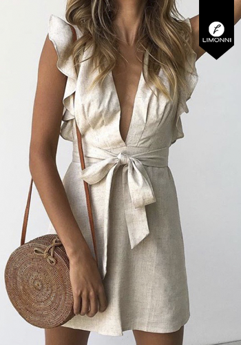Vestidos para mujer Limonni Claudette LI2276 Cortos Casuales